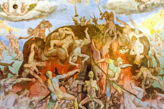 Kedalaman Negara, Lukisan di Basilika Santa Maria del Fiore, Italia