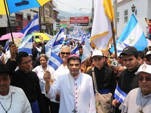 Ziarah untuk perdamaian di Nikaragua di Bulan Mei/LA PRENSA