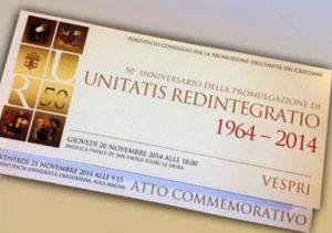 Unitatis Redintegratio