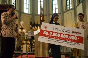 Tahun Syukur KAJ, sumbangan untuk Carolus