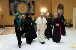 Paus dan Iran tentang perempuan4