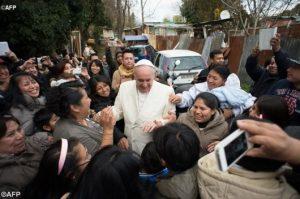 Paus di Perkampungan Kumuh di Roma