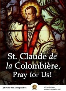 Santo Claudius de la Colombiere