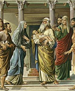 Yesus Dipersembahkan di Bait Allah