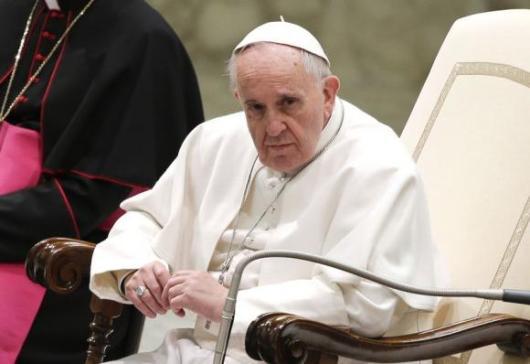 Paus saat audiensi dengan para anggota UCIIM