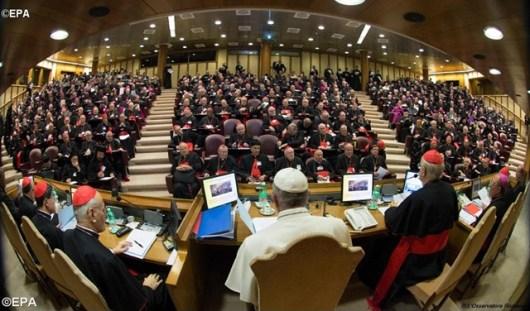 Sesi Pertama Sinode tentang Keluarga 2015