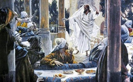 Yesus-makan-bersama dari majalah Hidup