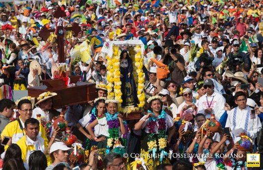 Paus dan Kaum Muda Meksiko