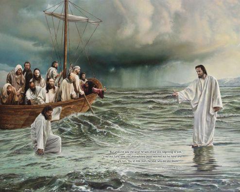 Yesus berjalan di atas air
