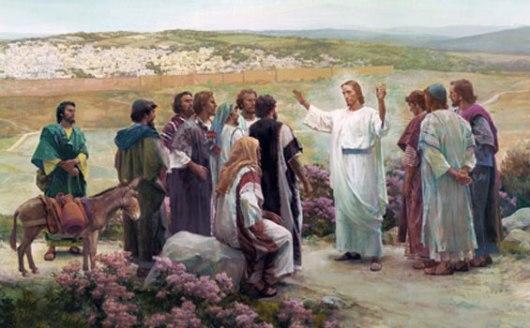 Yesus-utus-kedua-belas-rasul