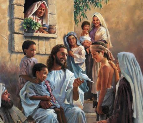 Jesus Teaching Boy