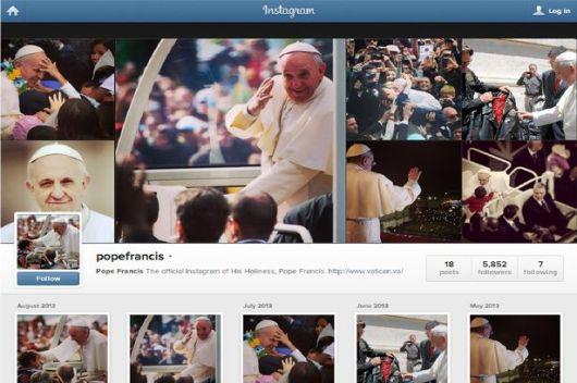 Pope-Instagram