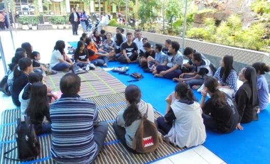 Tarsisius Day Misdinar Paroki Katedral Malang di kompleks   SDK Santa Maria II Malang