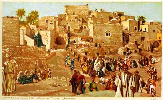 jesus-passing-through-villages-on-his-way-to-jerusalem-tissot