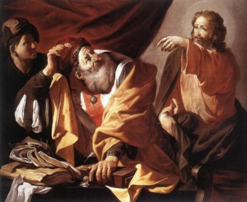 jesus calls tax collector