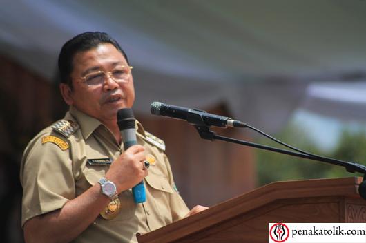Gubernur Kalimantan Barat Cornelis. Foto PEN@ Katolik