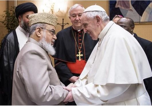 Paus bertemu pimpinan Muslim dari Inggris