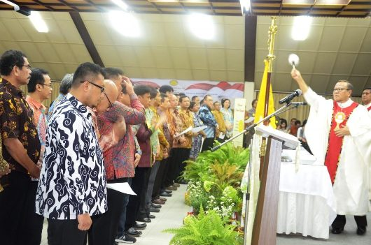 Ekaristi Pengukuhan Presidium ISKA 2017-2021 di KWI/Foto: John Laba Wujon
