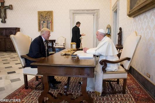 Paus dan Pesiden AS
