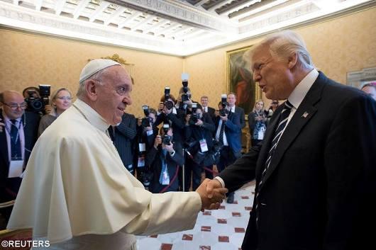Paus dan Pesiden AS1