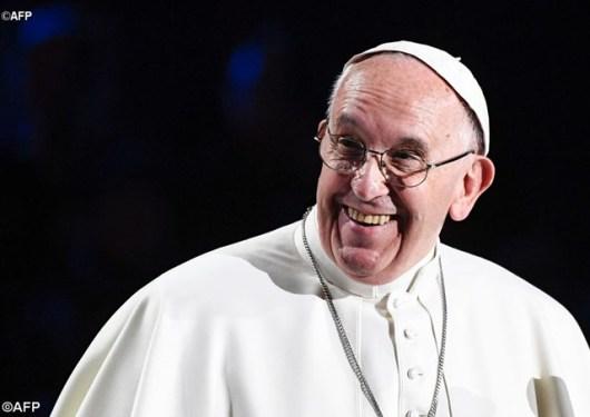 Paus dal;am acara ekumenis di Swedia