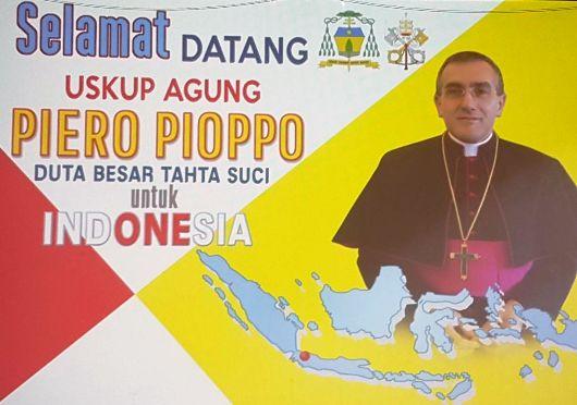 Selamat Datang Mgr Piero Pioppo