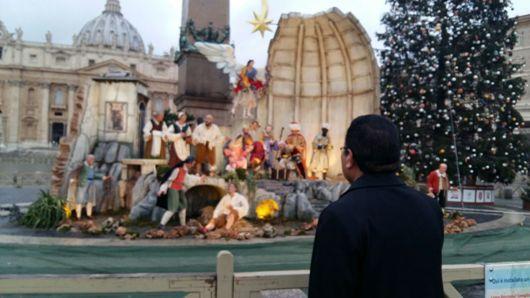 Kandang Natal Lapangan St Petrus