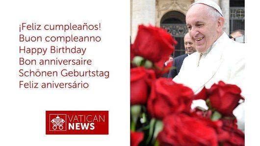 Selamat Ulang Tahun Paus Fransiskus