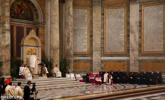 Paus pimpin Ibadah Sore penutupan Pekan Doa sedunia untuk Persatuan Umat Kristiani 1