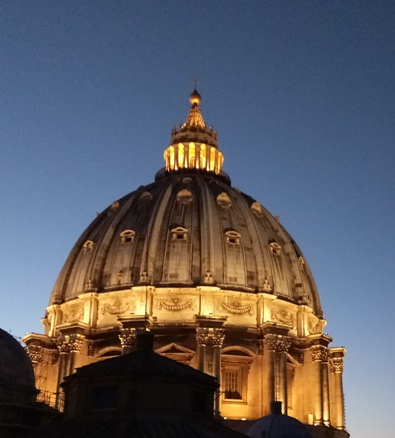 Kuba Basilika Santo Petrus Vatikan. Foto PEN@ Katolik/paul c pati