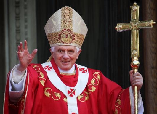 POPE BENEDICT XVI (PHILIP CHIDELL/SHUTTERSTOCK.COM)