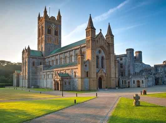 Biara Buckfast di Devon, Inggris