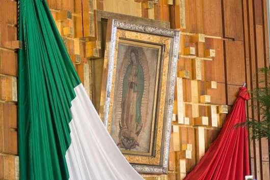 Tempat Ziarah Perawan Maria Guadalupe di Mexico City, Mexico. Foto Eduardo Berdejo/CNA