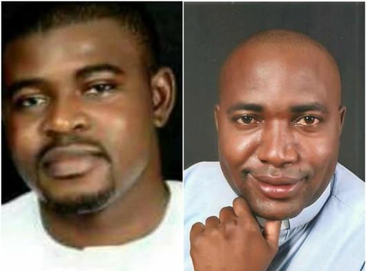 Dua imam yang tewas, (dari kiri ke kanan): Pastor Felix Tyolaha dan Pastor Joseph Gor