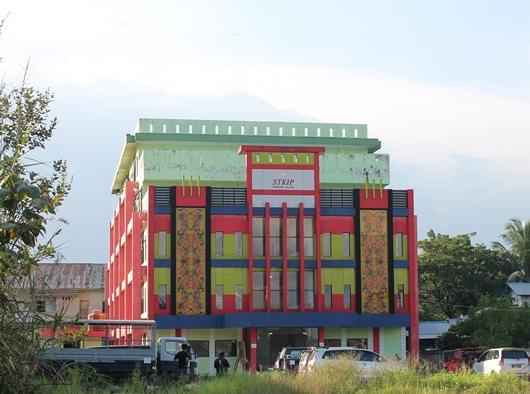 STKIP Paname Talino di Landak, Kalbar, saat ini. Gedung baru akan segera dibangun/PEN@ Katolik/pcp