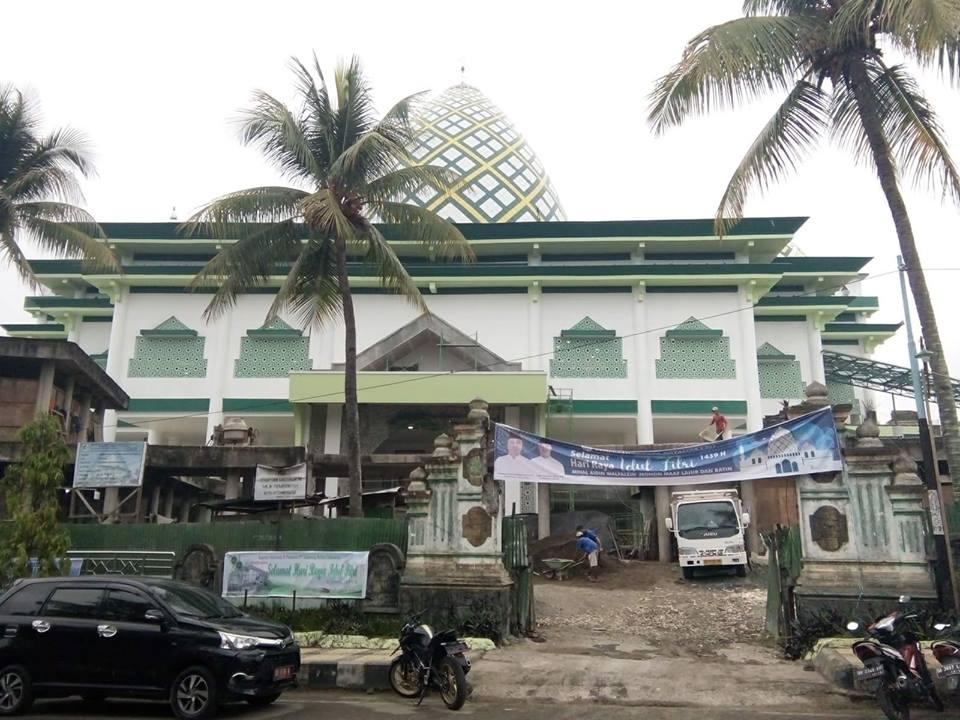 Mesjid Baitul Makmur/Foto dari Paroki Kotamobagu