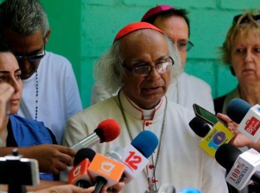 Kardinal Leopoldo Brenes, Ketua Konferensi Waligereja  Nicaragua (AFP)