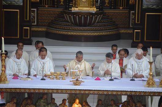 Misa Penutupan Jamnas Sekami 2018 dipimpin Uskup Agung Pontianak Mgr Agustinus Agus/Foto Komsos KAP