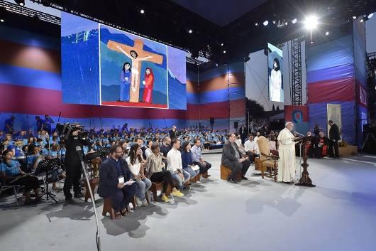 Paus dan OMK Italia1