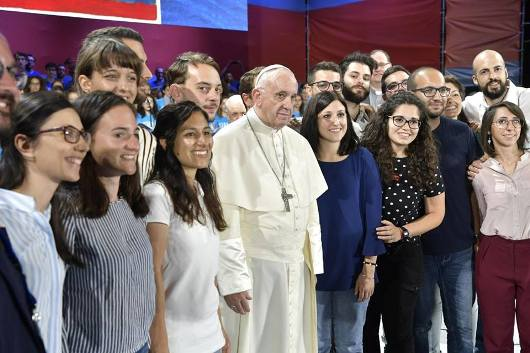 Paus dan OMK Italia4