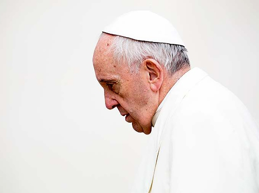 Paus Fransiskus. DANIEL IBANEZ/CNA