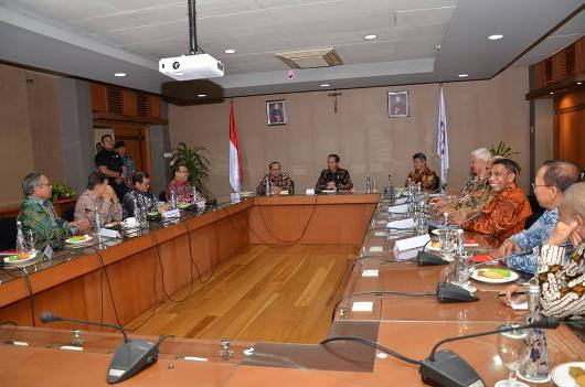 Pertemuan Presiden Jokowi dengan Presidium KWI, 24 Agustus 2018/Ist