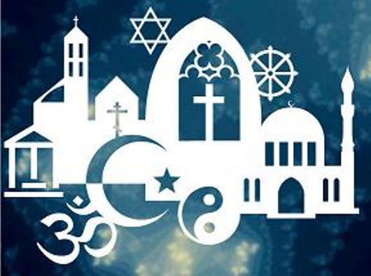 Simbol-simbol agama. Dioambil dari elsaonline.com