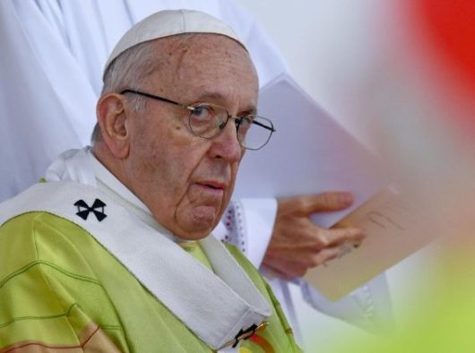 Paus merayakan Misa di Phoenix Park, Dublin  (ANSA)