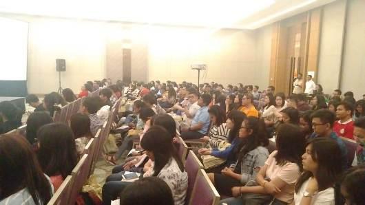 Suasana seminar. Foto Jansi Kuntag