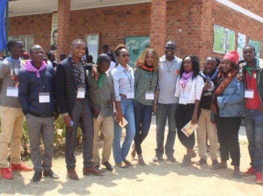 Beberapa Salesian muda dari Zambia, Malawi, Zimbabwe yang mengikuti reli. Foto Vatican Media