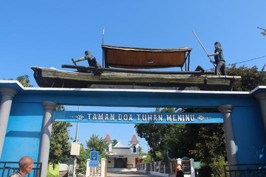 Kapela Tuan Meninu yang baru diambil dari Taman Doa Tuan Meninu. PEN@ Katolik/pcp