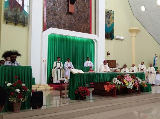 Misa Penutupan Muspas Kame 2018 di Gereja St. Fransiskus Xaverius Katederal, Minggu (14-10)