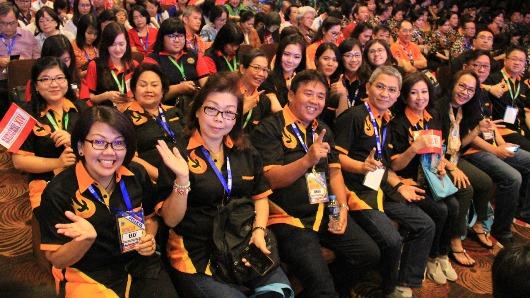 Sebagian peserta Konvenas XIV PKK. Komsos Pontianak/sam