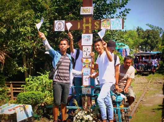 Ziarah Salib OMK mempersiapkan OMK Keuskupan Gumaca untuk Tahun Orang Muda 2019. Foto diambil dari cbcpnews.net